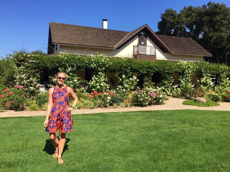 8 day Pacific Coast Highway road trip itinerary - Solvang; Rideau Winery