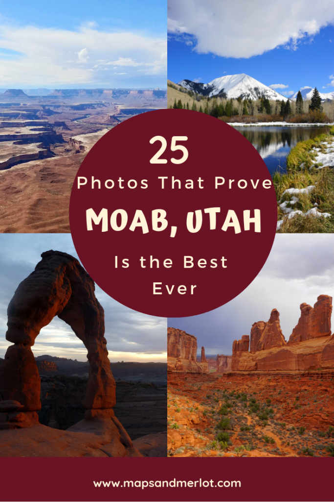 Plan an epic 3 days in Moab, Utah. With this Moab, Utah itinerary, you'll see the top attractions in the area, but still want to come back for more! #utah #moab #travelutah #canyonlands #archesnationalpark #delicatearch