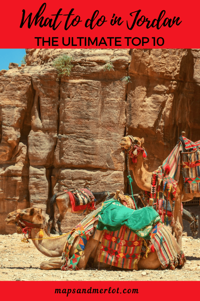 Discover the 10 top tourist attractions in Jordan! #travelJordan #Amman #Petra #Jerash #WadiRum #RedSea #DeadSea