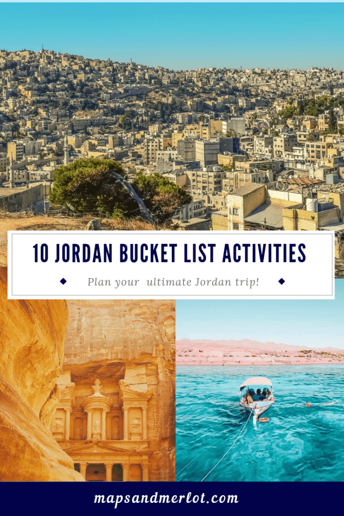 Discover the 10 top tourist attractions in Jordan! #travelJordan #Amman #Petra #Jerash #WadiRum #DeadSea #RedSea #TheCitadel