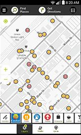 mapquest gas calculator app
