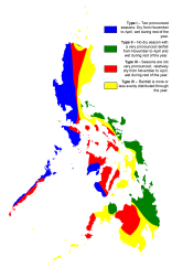 Philippine Climate Map Mapsof Net