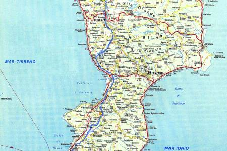 calabria location on the italy map calabria italy calabria map ...