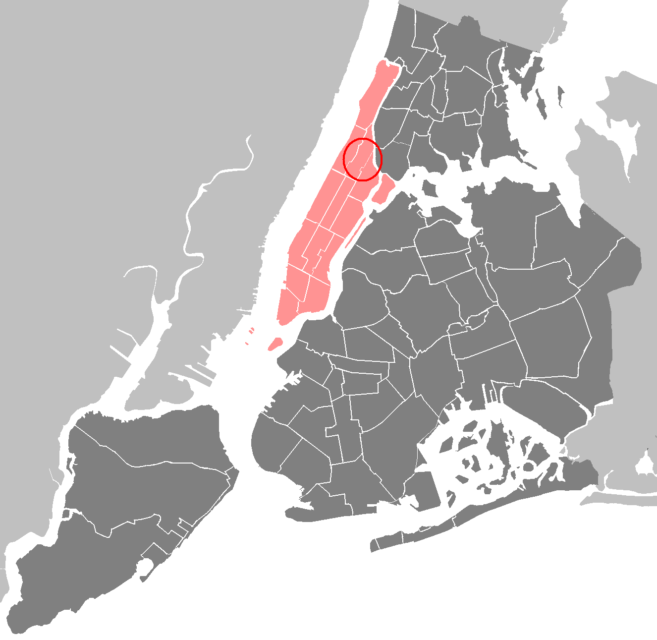 Google Earth Manhattan New York