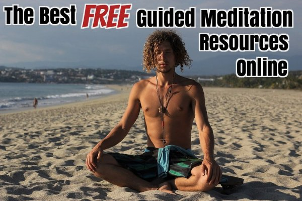 Best Free Guided meditation online beach