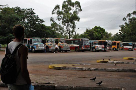 bus terminal asuncion