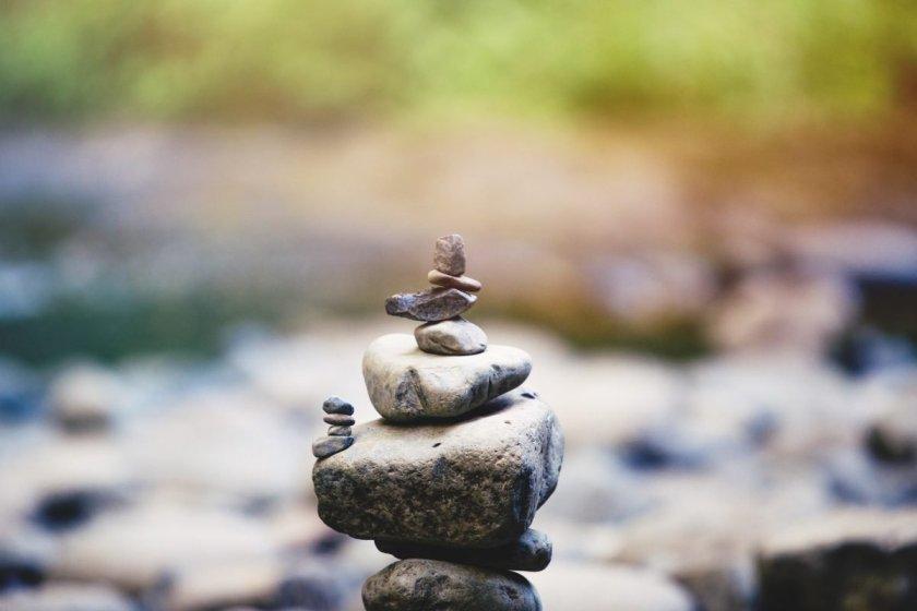 balance rocks zen