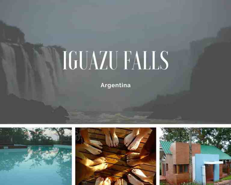 Iguazu Falls Collage From About Page Maps over Coffee