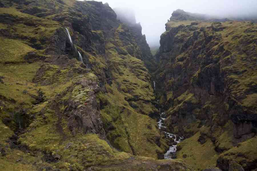 Tim's Falls in Iceland - The Best Campsites in Iceland include amazing views