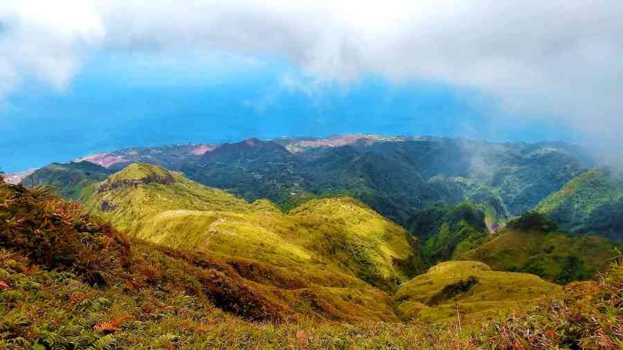 Mount Pelee Martinique best hiking in the Caribbean