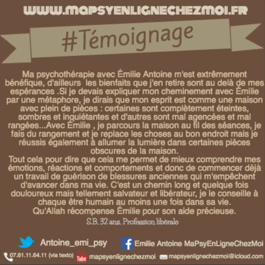 #Témoignage