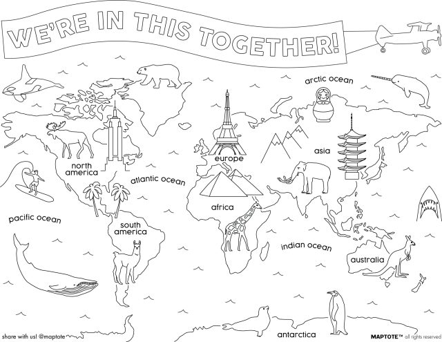 FREE Coloring Pages & Card Downloads « Maptote