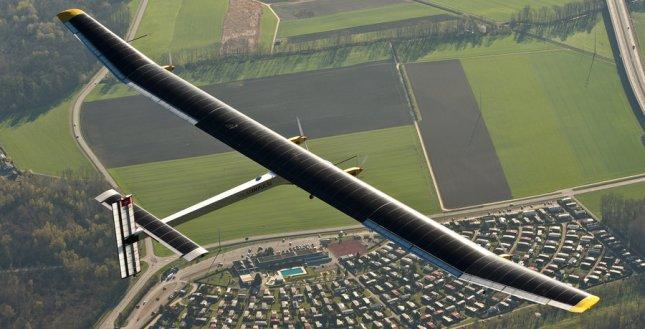 avión solar.
