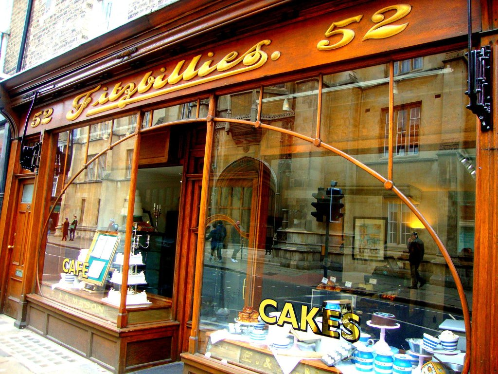 old style cake shop