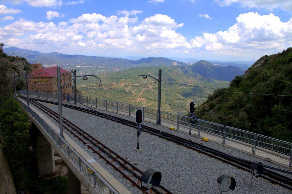 Rack Railway (Cremallera de Montserrat), Montserrat