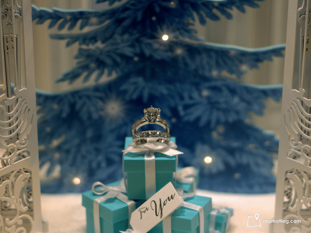 Tiffanny&Co Christmas display_London