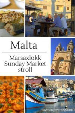 Marsaxlokk Sunday Market stroll
