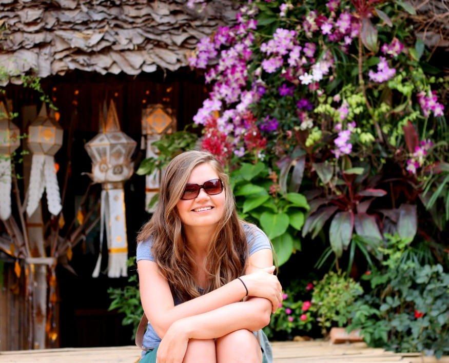 Wat Phan Tao, monastery garden,Chiang Mai