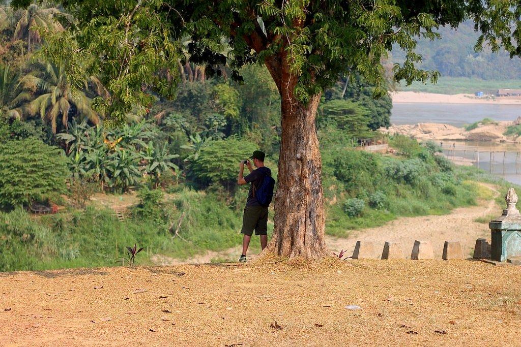 Beautiful panoramic views of Luang Prabang, Laos