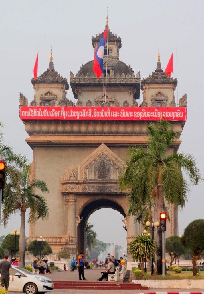 Patuxai - Victory Gate, Laos