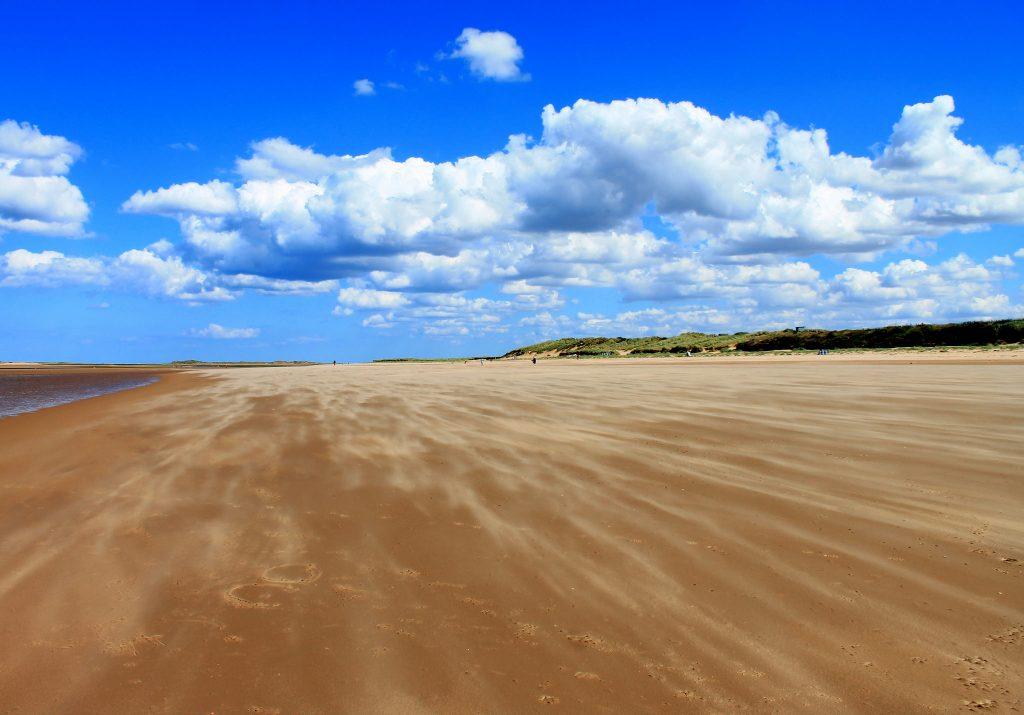 Beaches in Norfolk, Brancaster Beach, UK