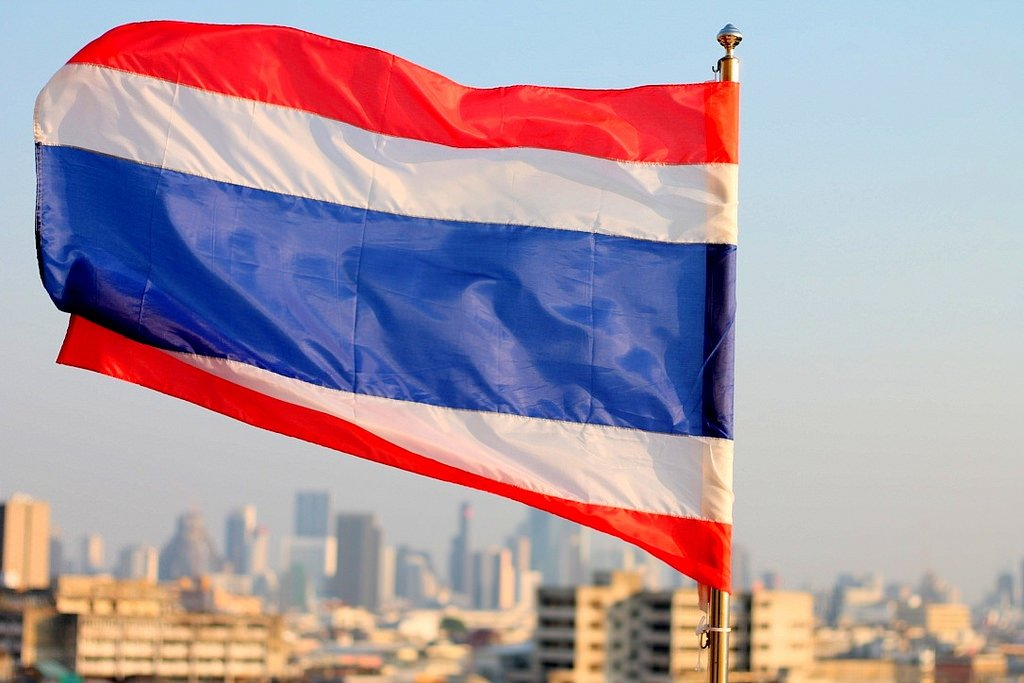 Thailand flag - travel complacency
