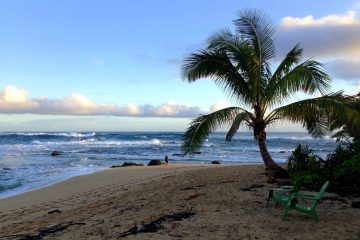 haena beach kauai hawaii