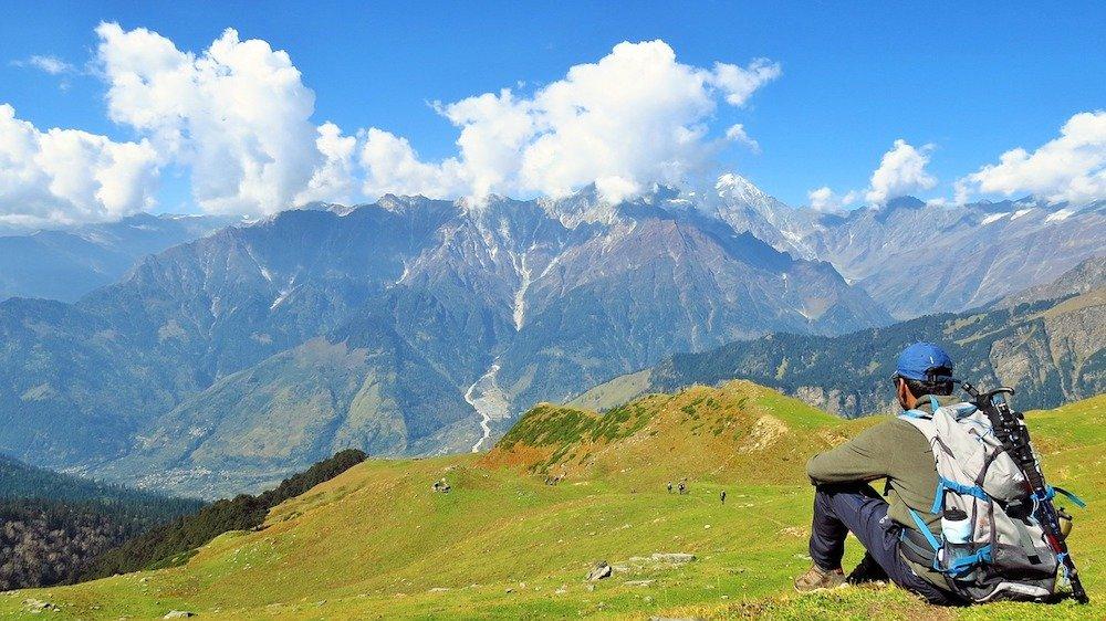 trekking Chandratal Himachal Pradesh India