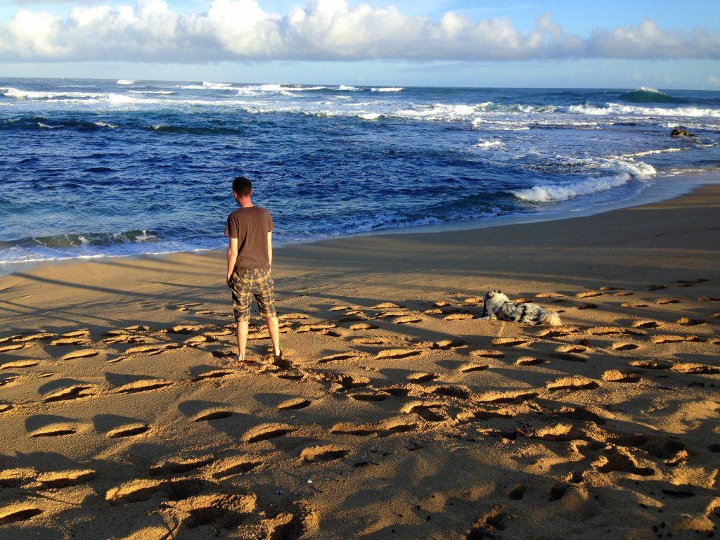 Haena beach, Hawaii