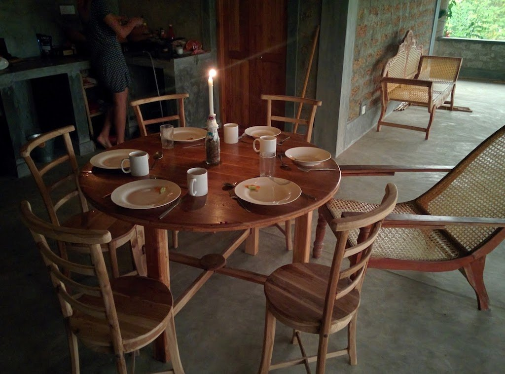 setting the table house sitting