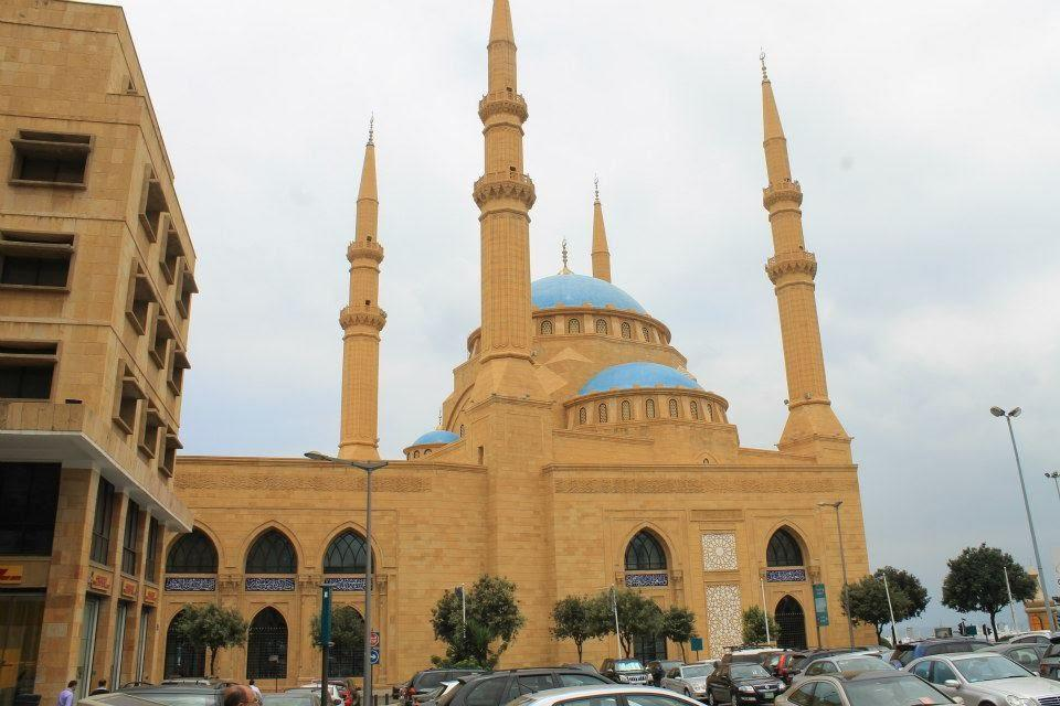 The largest Mosque in Lebanon