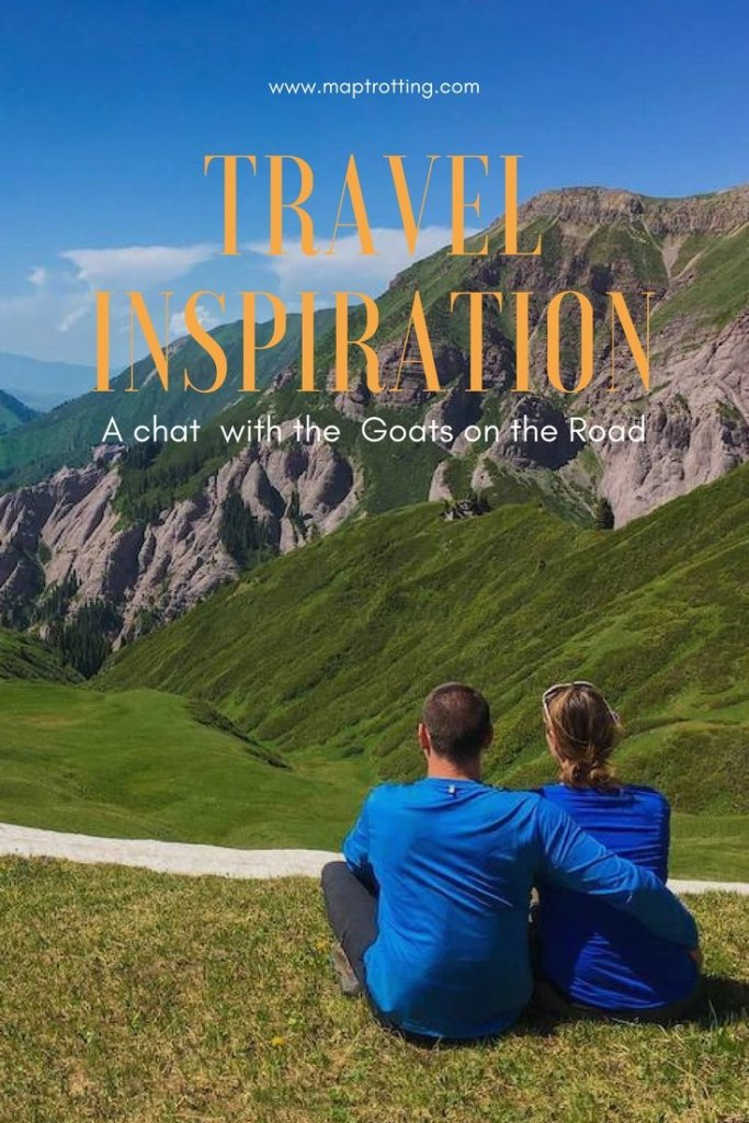 Travel Inspiration: a chat with the Goats on the Road