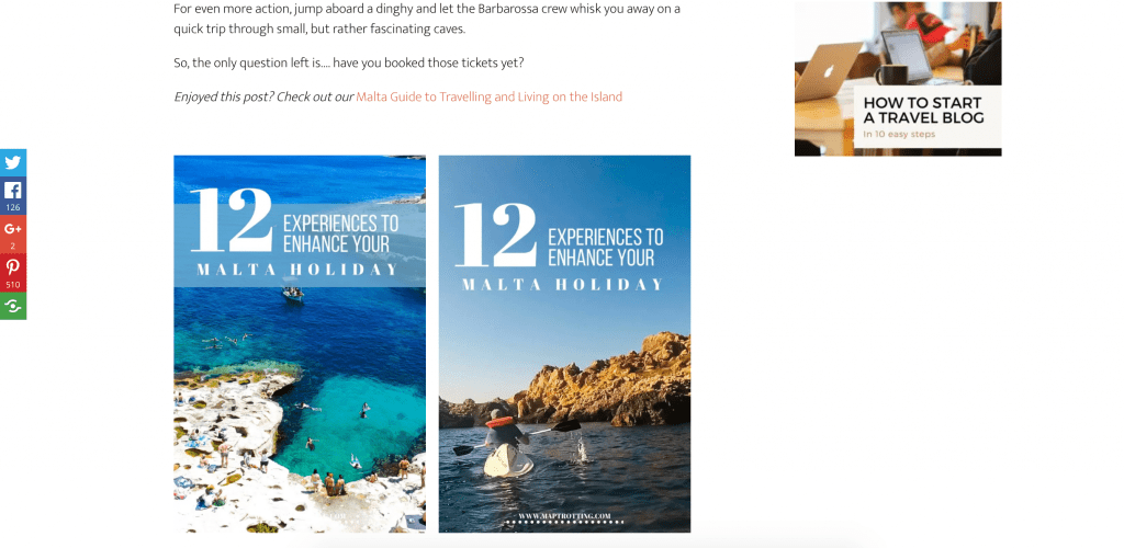 Pinterest guide for travel bloggers, creating pins