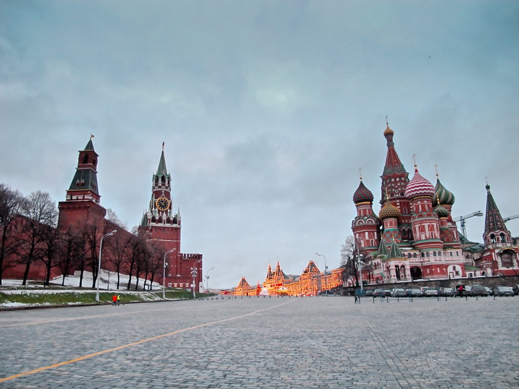 Unusual Christmas Destinations - Moscow