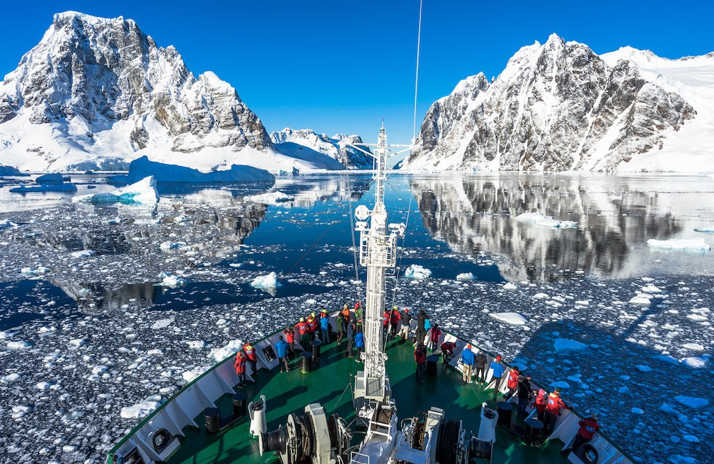 Where to travel in 2018 - Antarctica. The Lemaire Channel