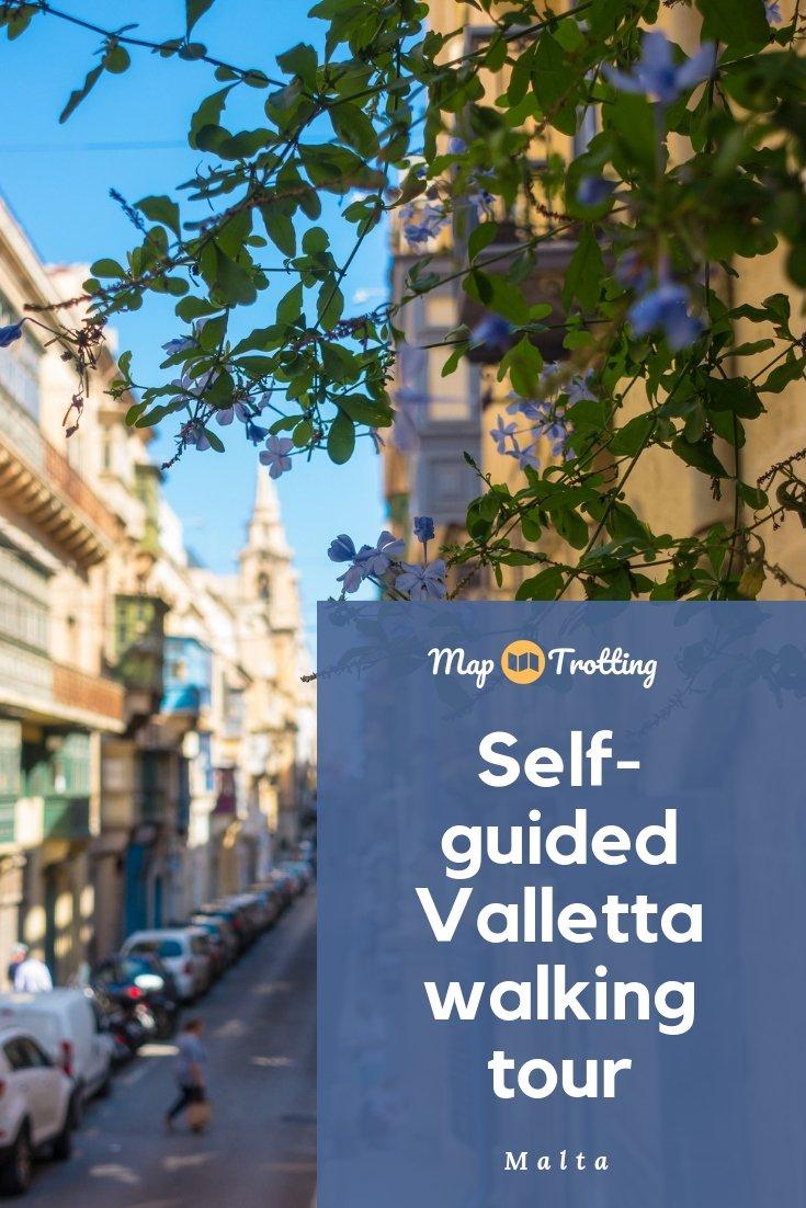 Valletta Walking Tour - Self-Guided
