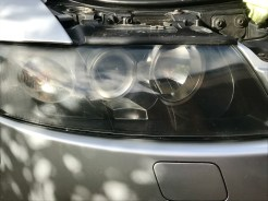 A4 Headlight Damage
