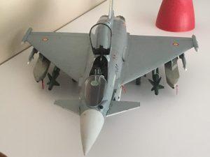 Maquetas hechas - Eurofighter Typhoon 1:48 Detalles de la parte delanera del Eurofighter 1/48