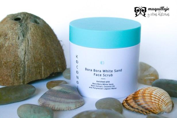 KOCONOÏ-exfoliante facial Bora Bora White Sand Face Scrub