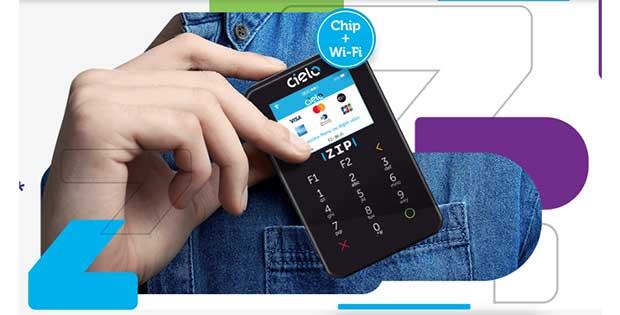 Cielo ZIP Máquinas de Cartão de Crédito
