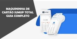 Maquininha SumUp Total