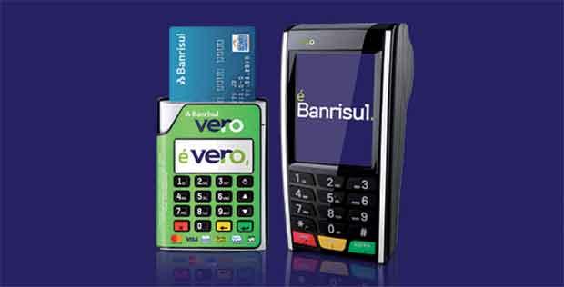 Vero Mobile Banrisul (Vero UP) Máquina de Cartão
