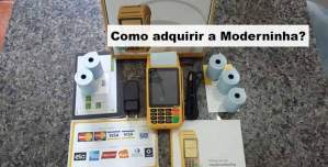 Como adquirir a Moderninha