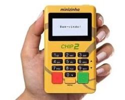 Minizinha Chip 2 não precisa de celular para funcionar.