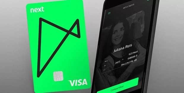 Cartão de débito Next já pode ser utilizado no Google Play e Samsung Pay