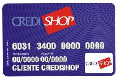 Cartão Credishop