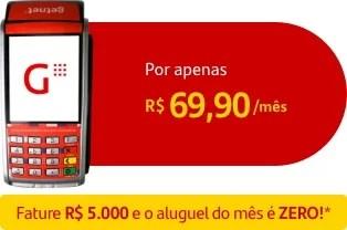 Maquininha Santander 5