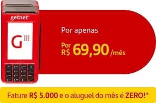 Maquininha Santander 6