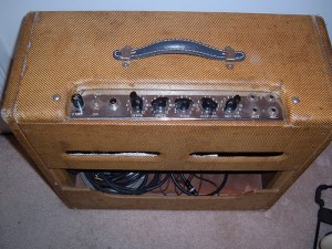 1955 Fender Tremolux Top Panel