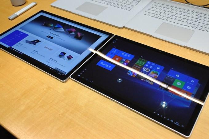Surface Book 2 15インチモデル比較